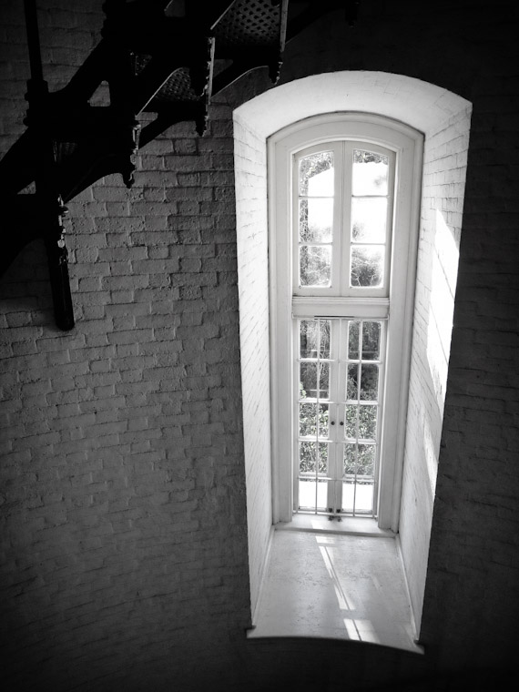 Photo of Lighthouse Window in St Augustine Florida