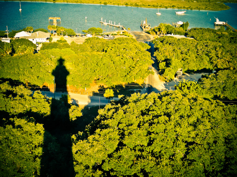 Photo of St Augustine Lighthouse Shadow
