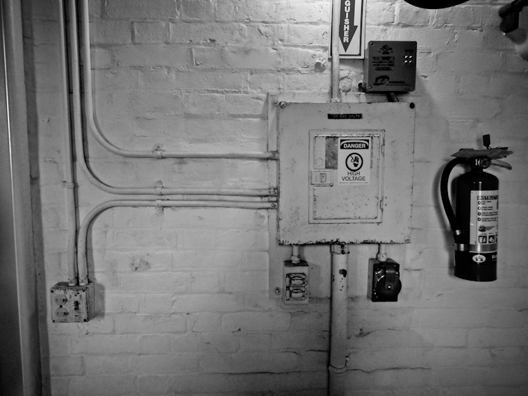 Photo of St Augustine Lighthouse Circuit Breaker Box
