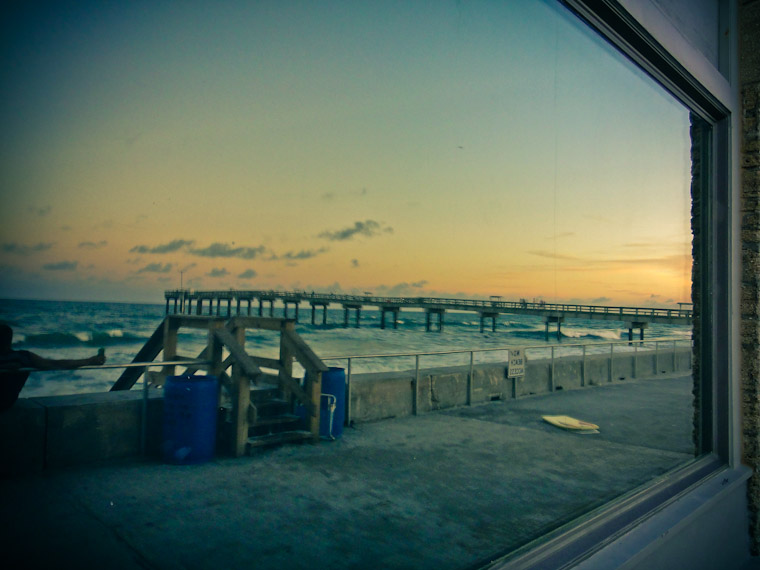 Photo of Pier Reflection St Augustine Florida