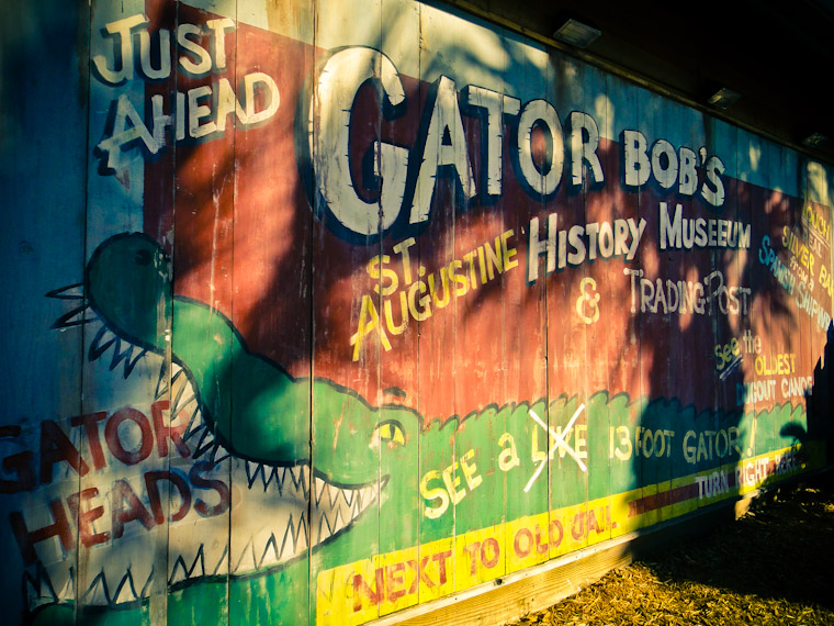 Gator Bob's Trading Post St Augustine Florida Picture