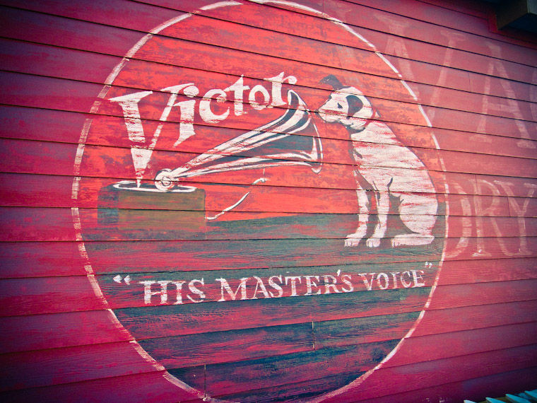 Picture of Victor Dog Building Painting St Augustine Florida