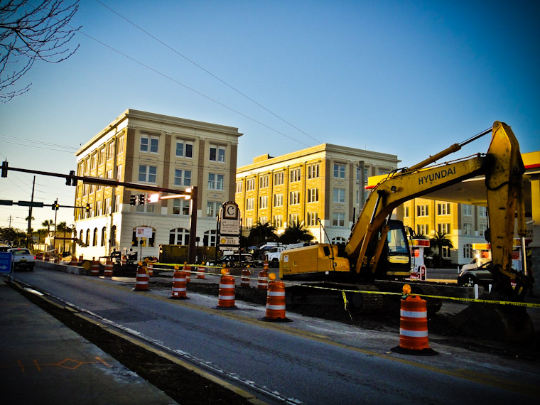 King Street Construction St Augustine Florida Picture