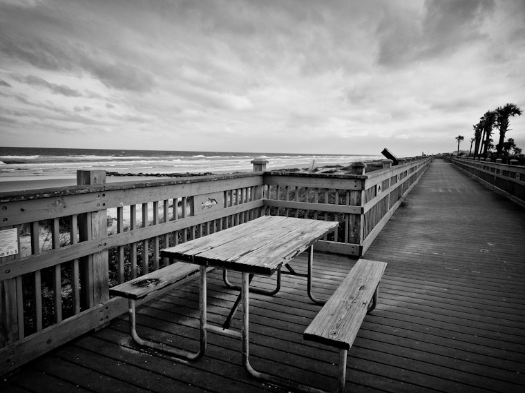 Photo of Marineland Picnic Table St Augustine Florida