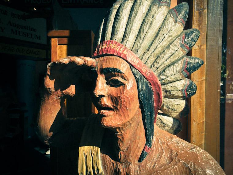 Cigar Shop Indian St Augustine Florida Picture