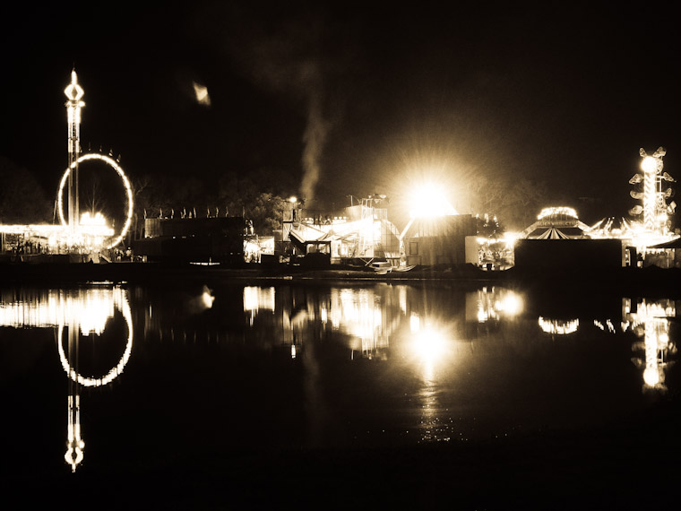 Picture of St Augustine Fair Reflection