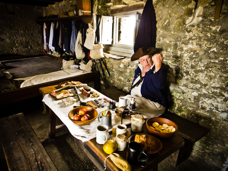 Storytelling at Fort Matanzas St Augustine Florida Pictures