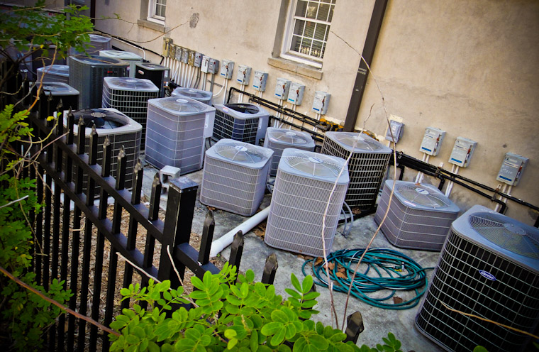 Air Conditioner Abundance in St Augustine Florida Pictures