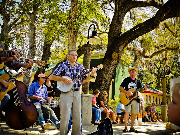 Farmer's Market Rocking in St Augustine Florida Picture