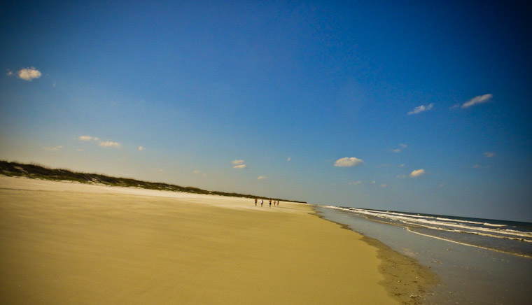 Photography of Beach Running in St Augustine Florida