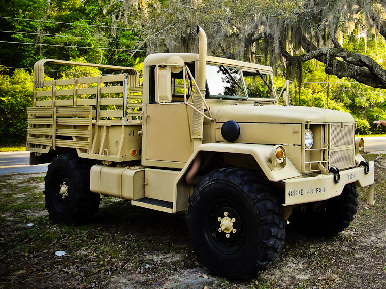 Picture of M35 Deuce and a Half in St Augustine Florida