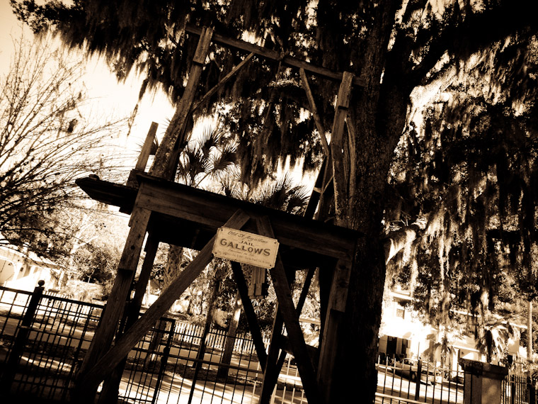 Photo of Old Jail Gallows in Saint Augustine Florida