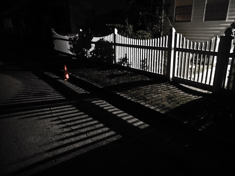 Fence Shadows Pictures in Saint Augustine Florida