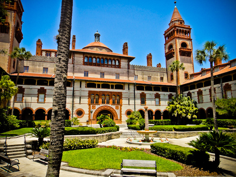 Picture of Flagler Courtyard in St Augustine Florida