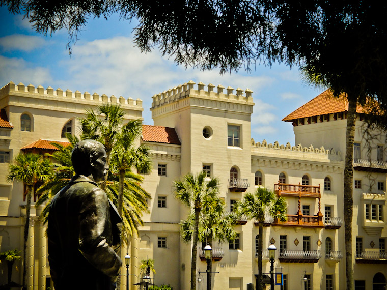 Picture of Henry Flagler and Casa Monica in St Augustine Florida