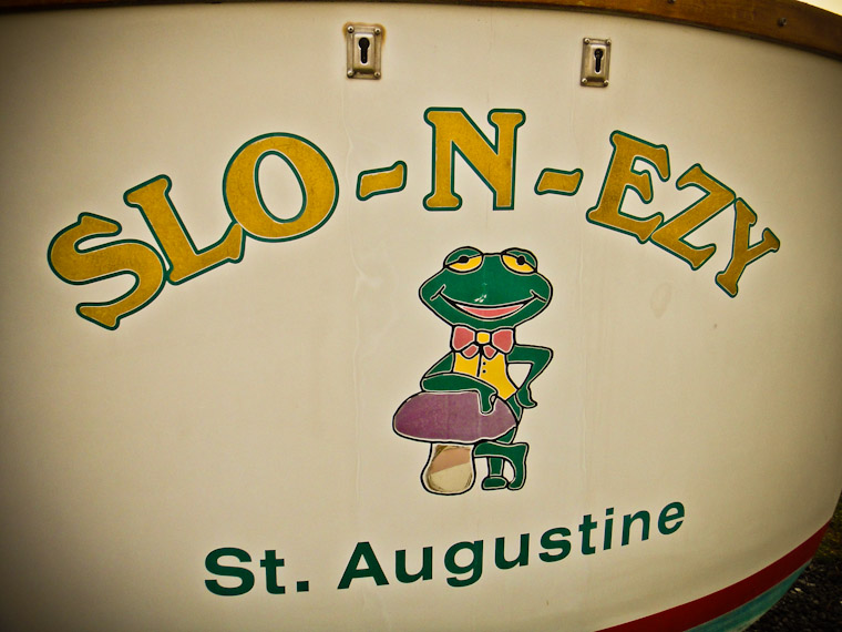 Photo of Slo-N-Ezy Boat in St Augustine Florida