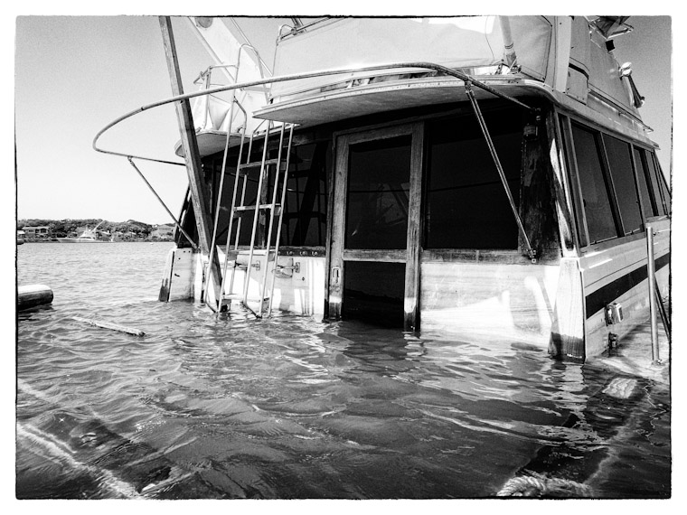 Photo of That Sinking Feeling Boat in St Augustine Florida