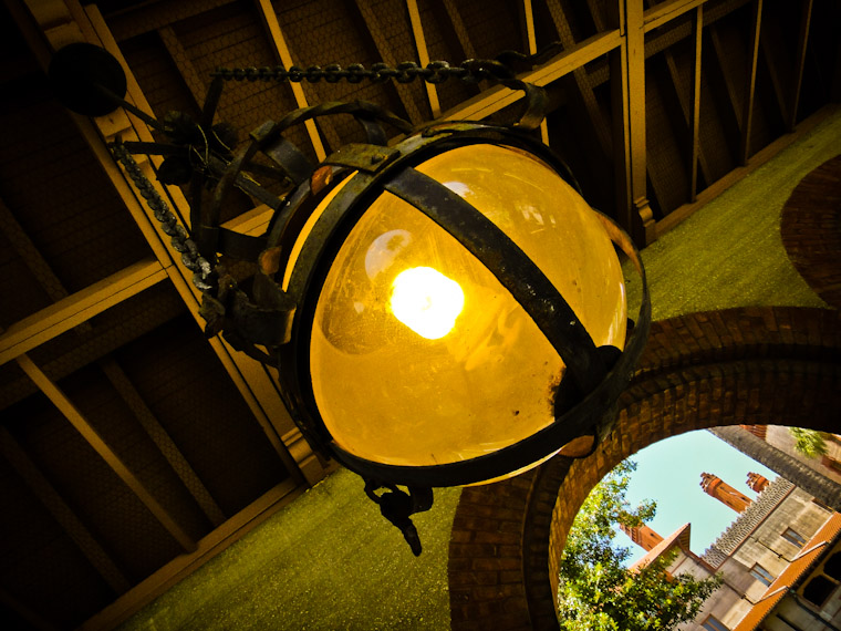 Photo of Flagler College Chain Light in St Augustine Florida