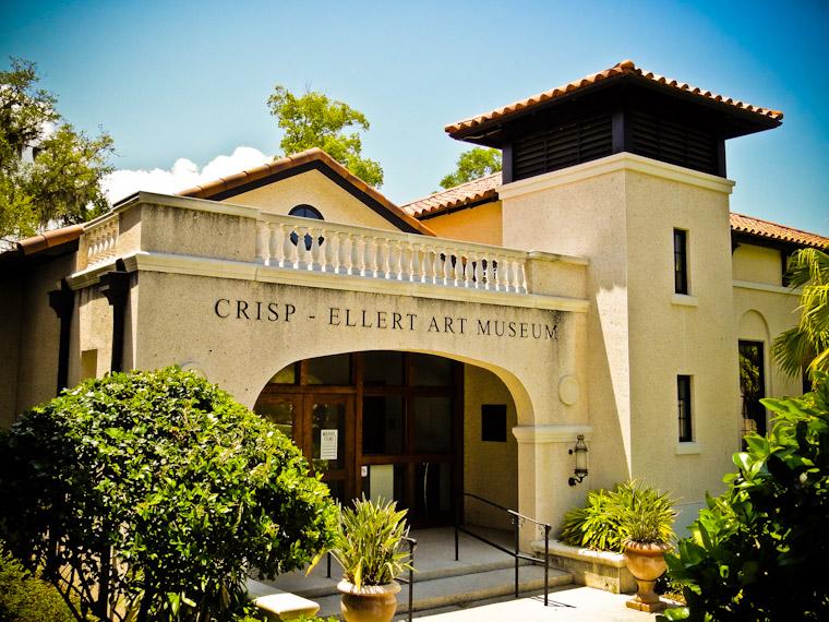 Crisp Ellert Art Museum at Flagler College in St. Augustine Florida