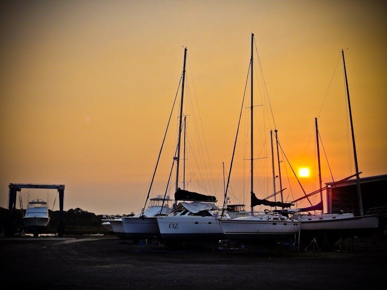 Photo of St Augustine Marine Center Sunset