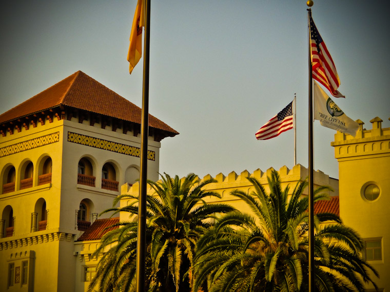 Tree City USA Photo in St Augustine Florida