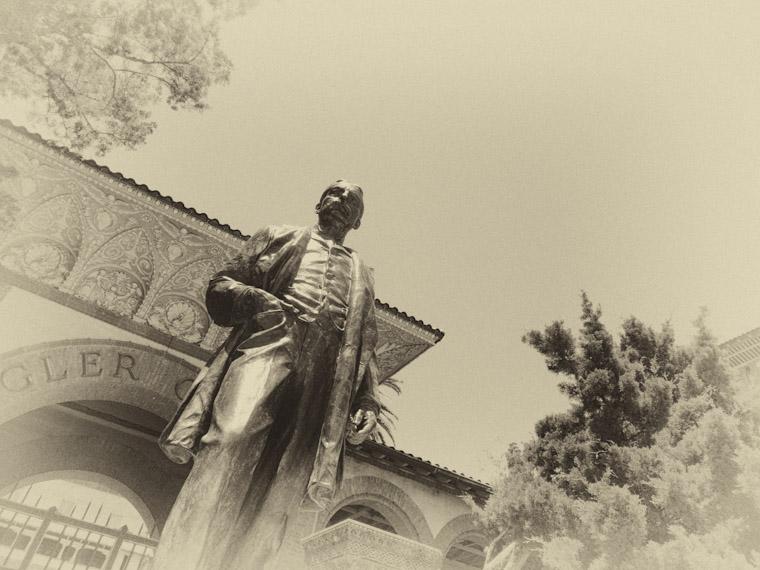 Henry Flagler Strolling St Augustine Florida Photo