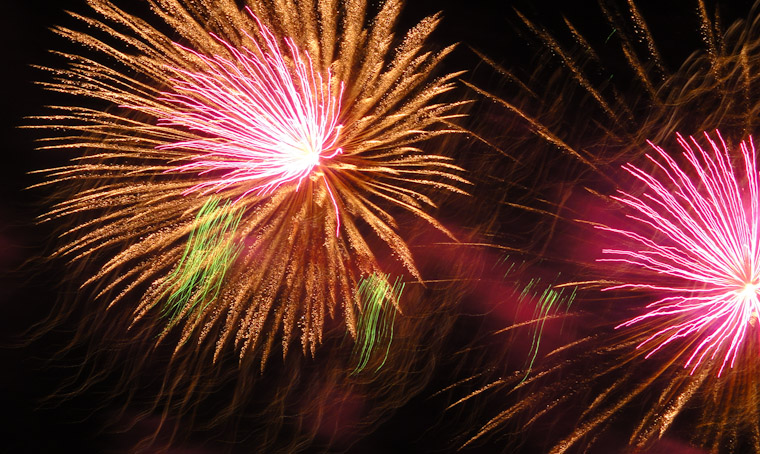 Photo of Website evolution fireworks in Saint Augustine Florida