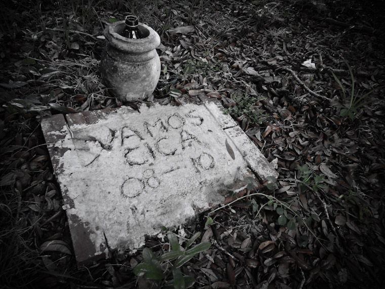 Photo of Vamos Cica Grave in St Augustine Florida