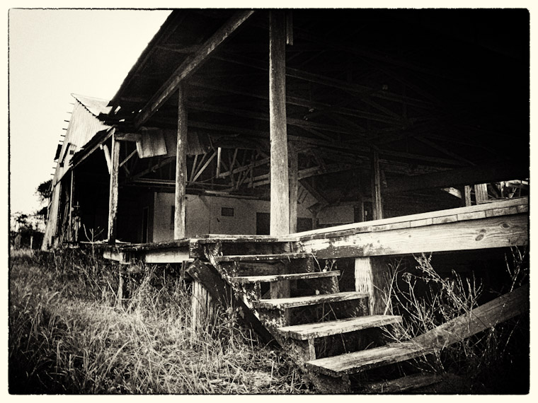 Picture of barn decay in st augustine florida