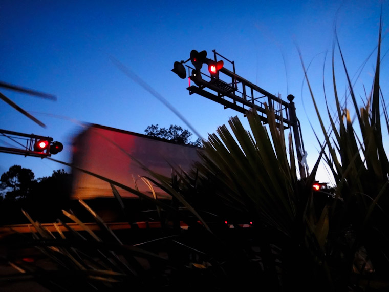 Photo of Morning Railroad Crossing in St Augustine Florida