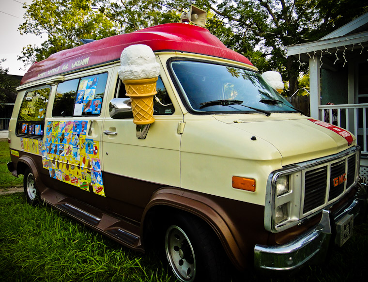 Picture of Davy Davis Ice Cream Truck in St Augustine Florida