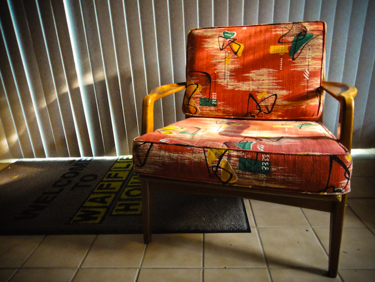 Photo of a Sunday Morning Chair in St Augustine Florida