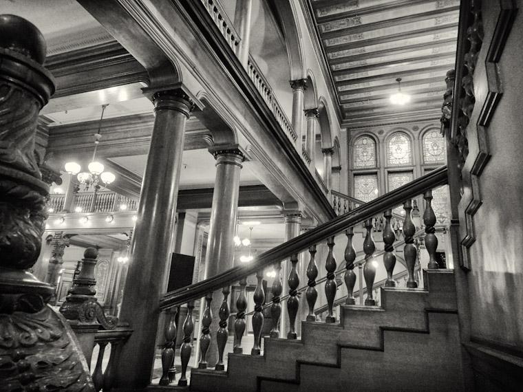 Photo of Flagler College Stairways in St Augustine Florida