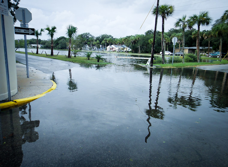 Picture of Lake maria Sanchez Flooding in St Augustine Florida