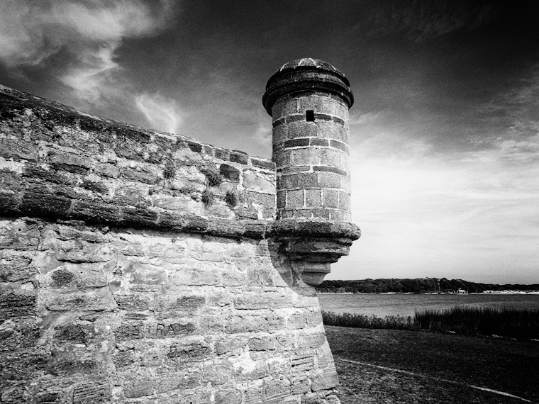 Photo of Fort Matanzas outlook in St Augustine Florida
