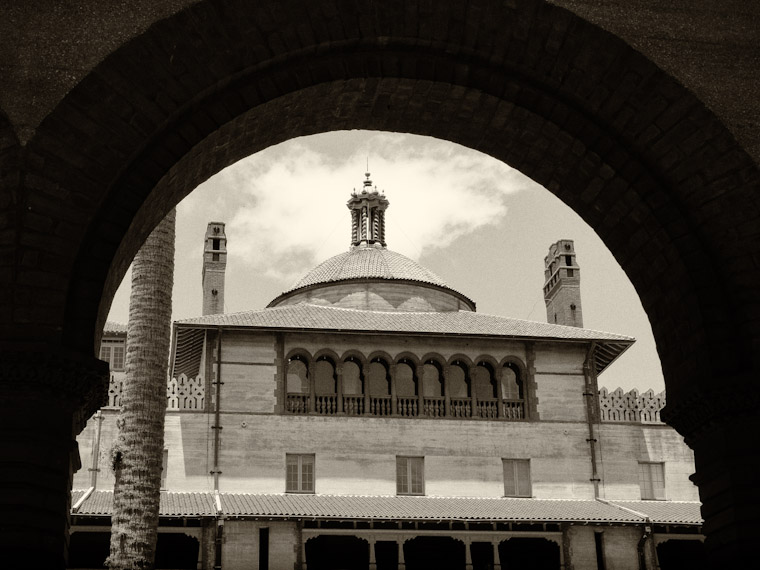 Flagler College Dome and Arch in St Augustine Florida