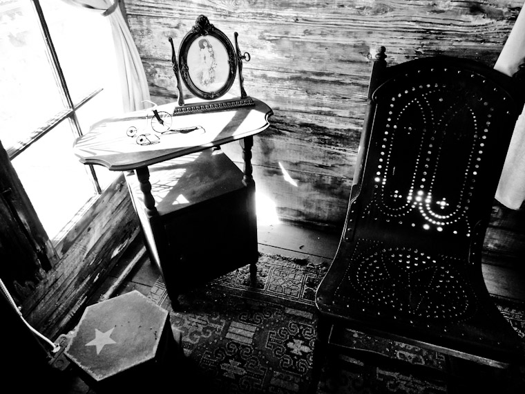 Picture of chair at oldest school in St Augustine Florida