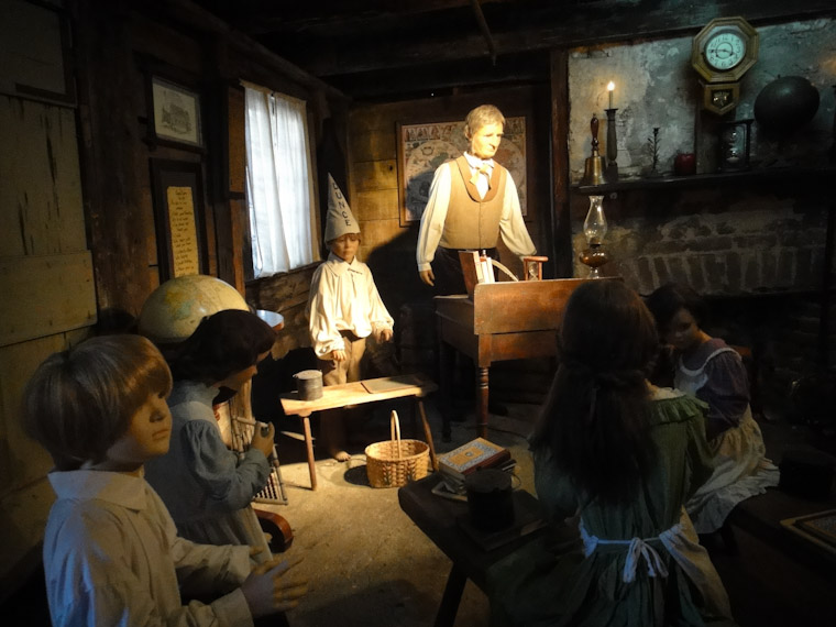 Photo of oldest schoolhouse class in St Augustine Florida