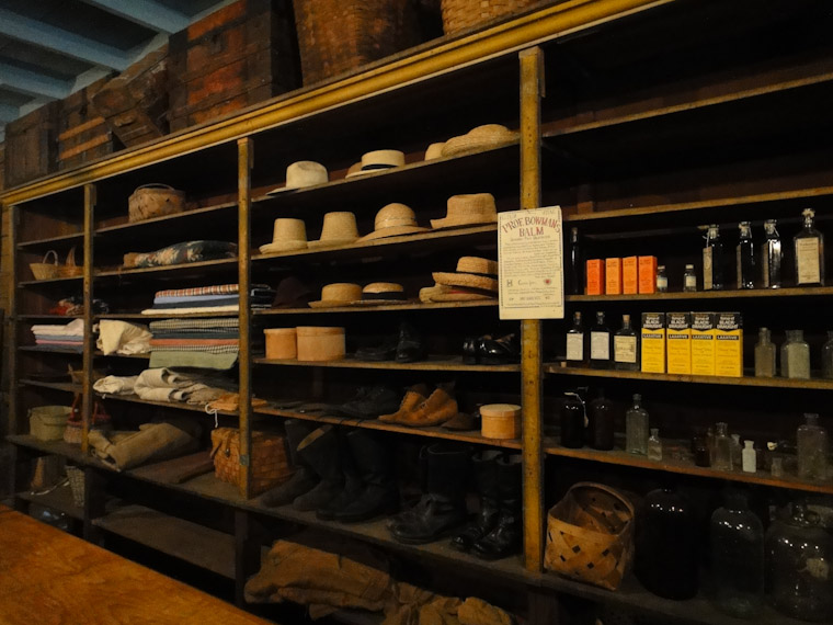 Picture of general store goods in St Augustine Florida