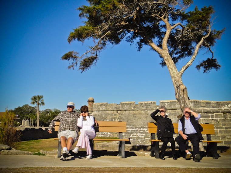 Photo of cannon waiting at Saint Augustine Fort