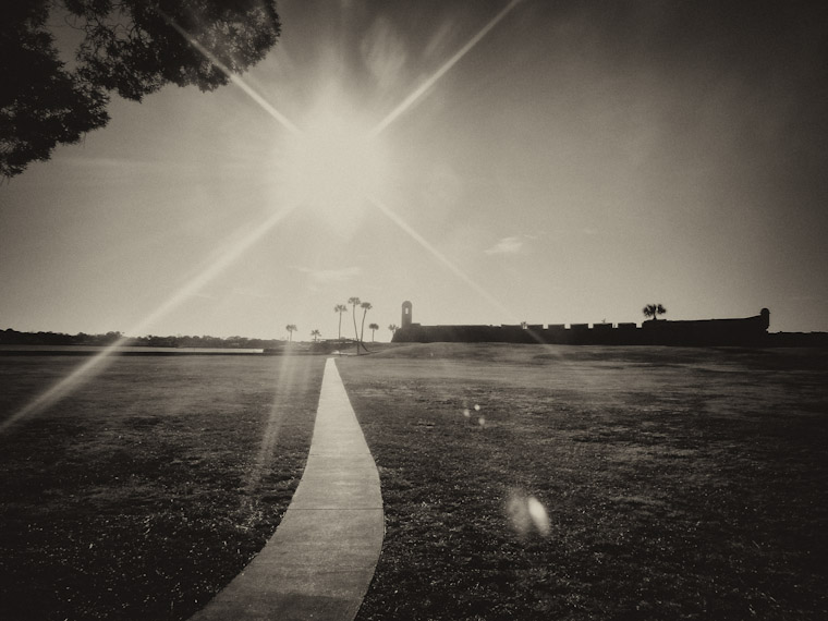 Castill Sun Staring Saint Augustine Pictures