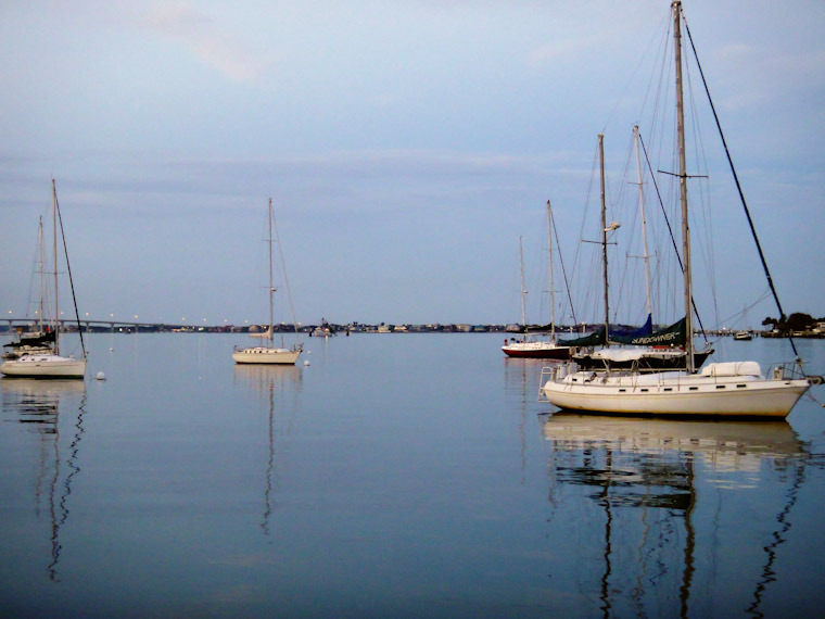 Photo of no sail symmetry in Saint Augustine Florida