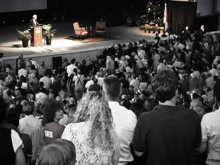 Picture of Bill Clinton in Saint Augustine Florida