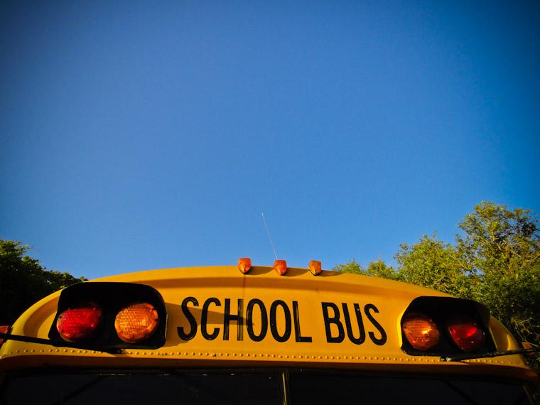 Picture of School Bus in Saint Augustine Florida