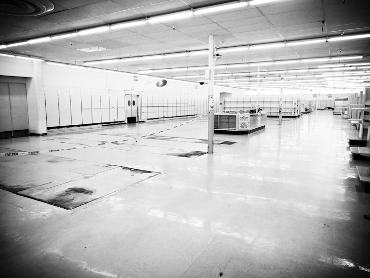 Picture of Kmart closing in Saint Augustine Florida