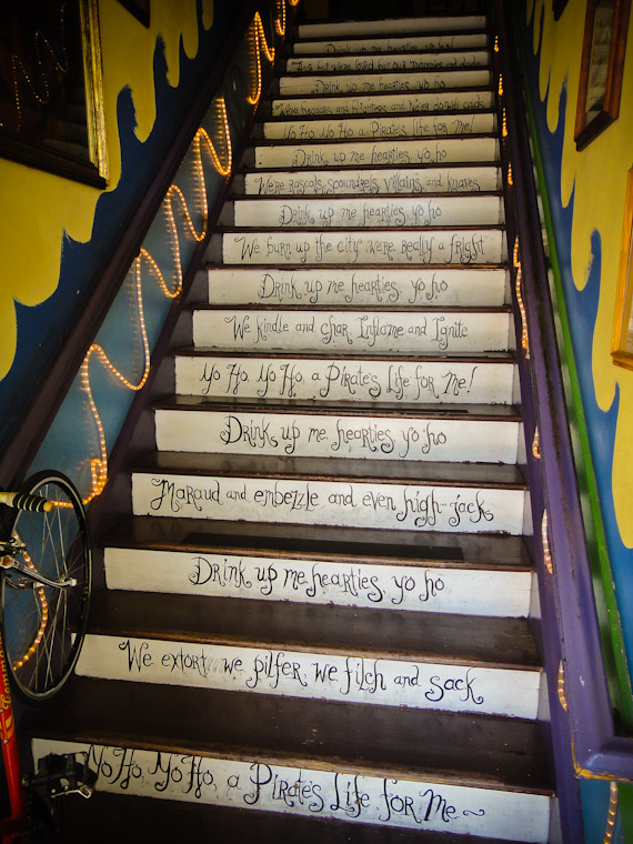 Photo of pirate house steps in saint augustine florida