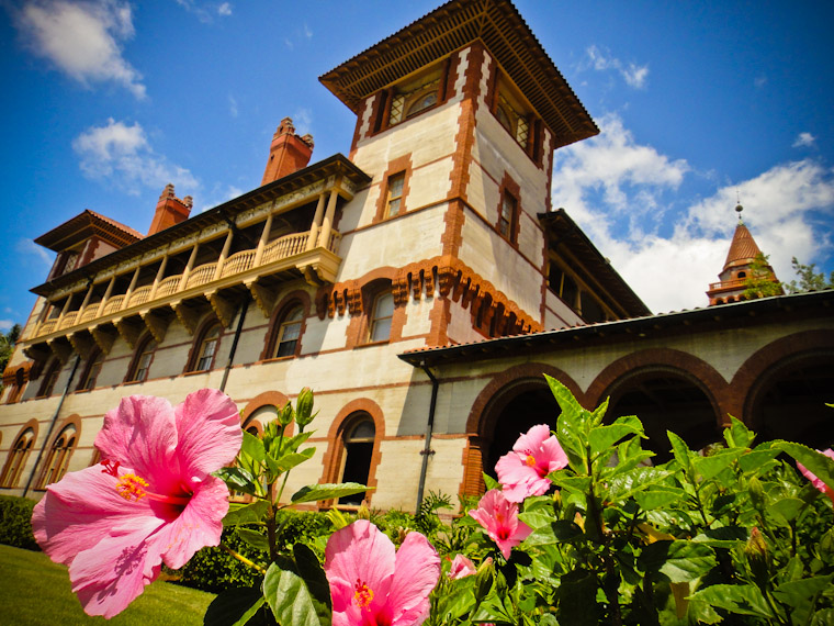 Photo of Flagler College Hibiscus in St Augustine Florida