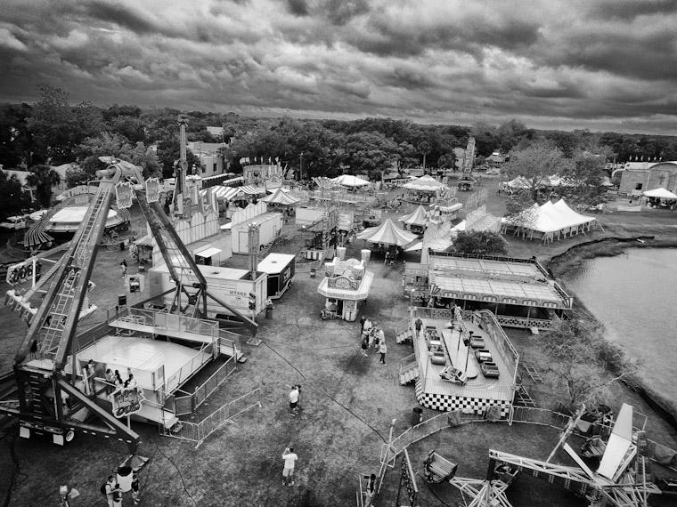 Flying festival fun in Saint Augustine Florida