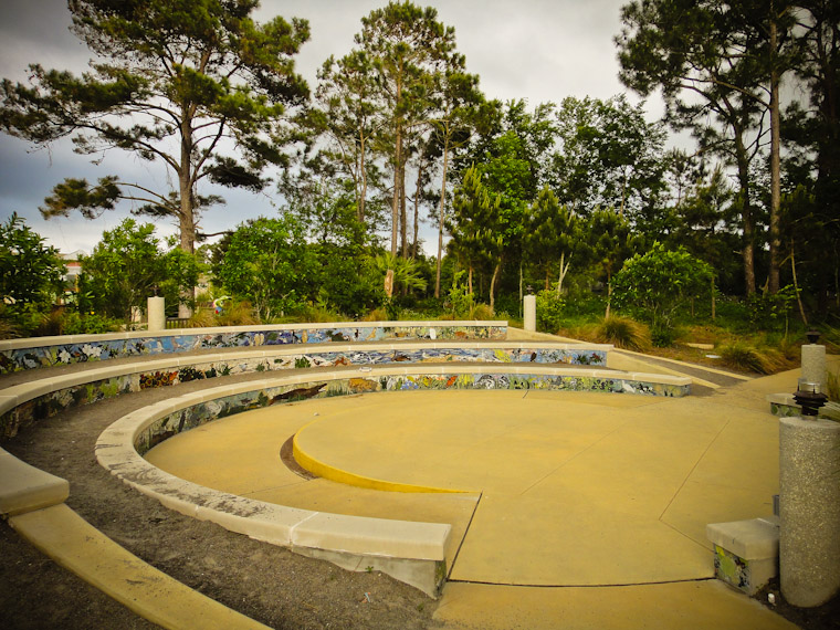 Picture of Library nature mosaic reading circle in Ponte Vedra Florida