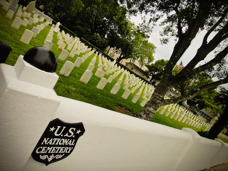US National Cemetary in Saint Augustine Florida